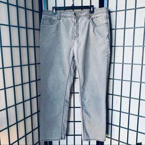 Prana Bridger Jean slim fit dark mud sz 38x30